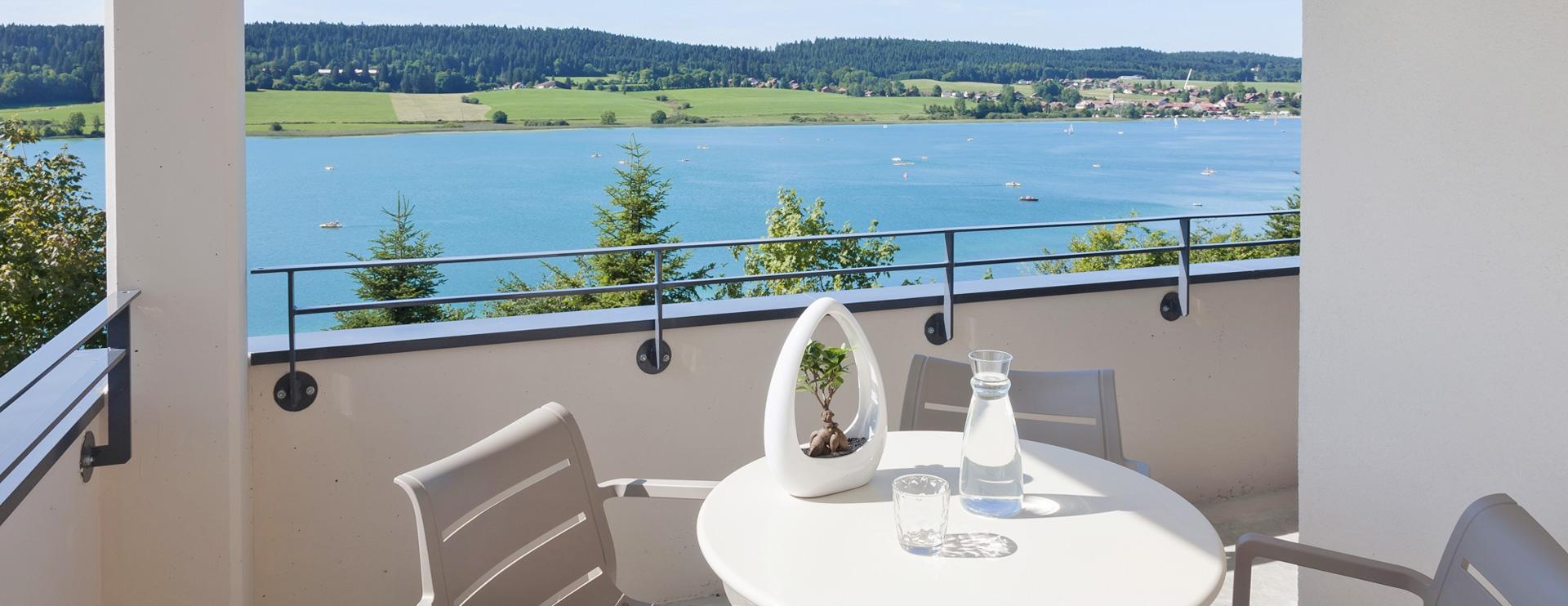 Balcon hôtel spa Haut-Doubs