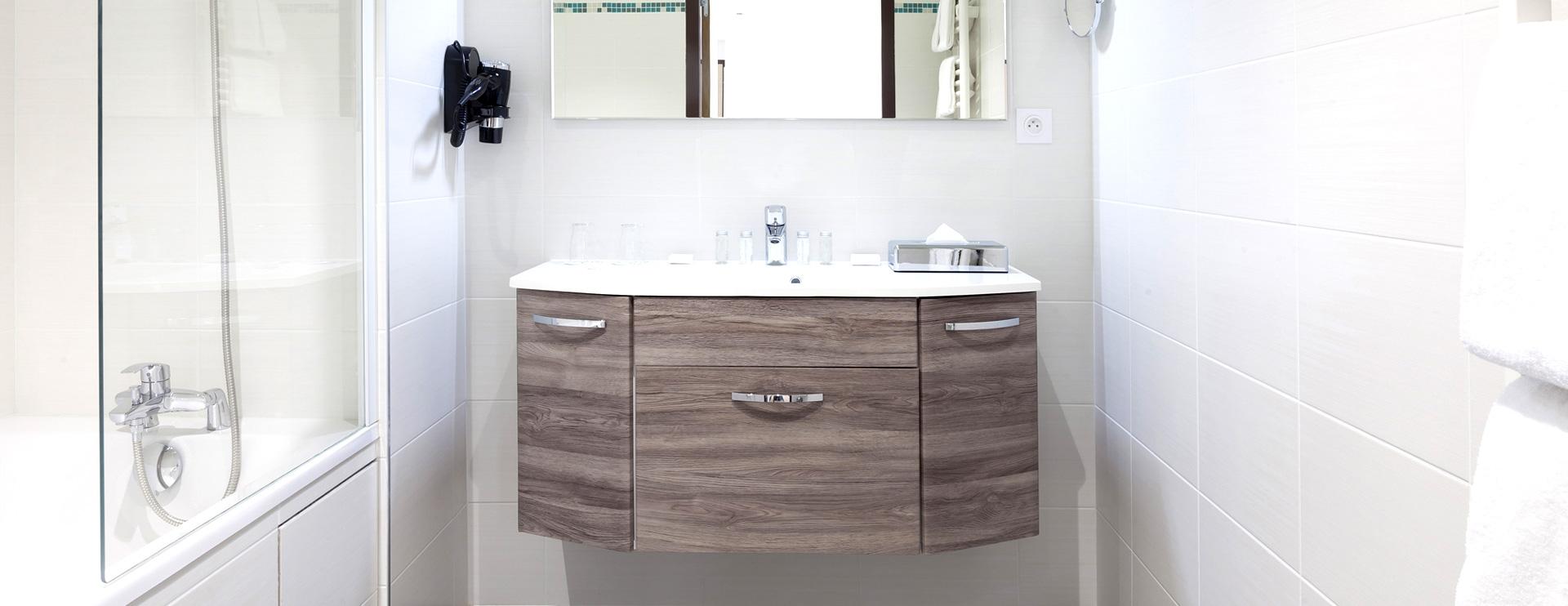 Salle de bain suite hôtel spa Doubs - Franche-Comté (25)